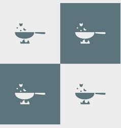 Pan icon simple vector
