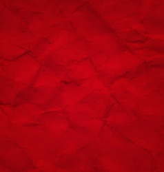 Red Crushed Paper vector