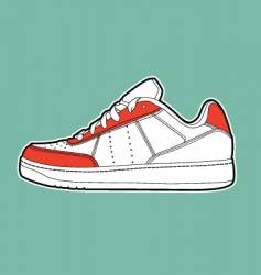 Sports shoe vector