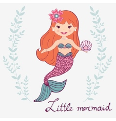 Little mermaid vector