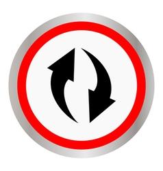 circulation icon vector image vector image