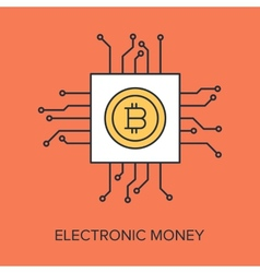 Electronic money vector