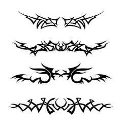 Tribal Set vector image