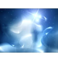 Blue Heavens vector image