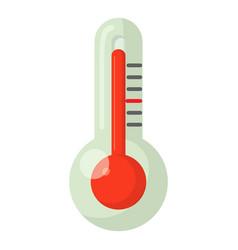 Heat icon cartoon style vector