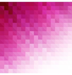 Abstract pink geometric technology background vector image