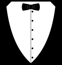 Event invitations black tie vector images over 140 black tuxedo with tie vector stopboris Images