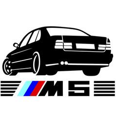 Bmw m5 vector