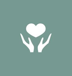 heart icon simple vector image