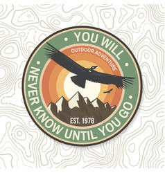 You will never know until you go summer camp vector