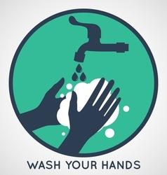 Hand Wash vector image