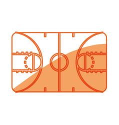 Basketball sport game vector