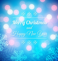 Christmas Greeting Background vector image vector image