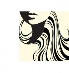 Abstract beauty vector