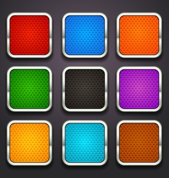 background for app icons-part 5 vector image