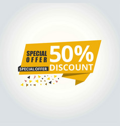 banner for super sale vector image