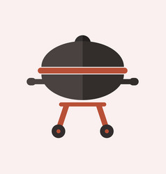 Barbeque icon vector