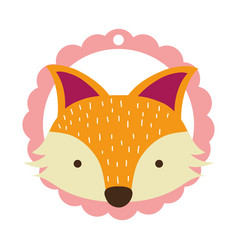 Fox only face vector