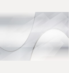 Gray abstract waves background with wavy lines vector
