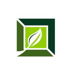 Landscape design solution vector