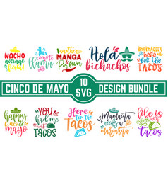 may 5 federal holiday in mexico hand drawn letter vector image