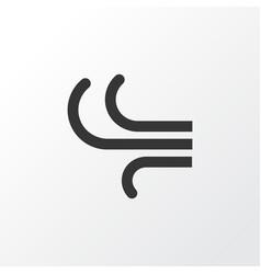 Wind icon symbol premium quality isolated breeze vector