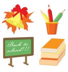 autumn class vector image