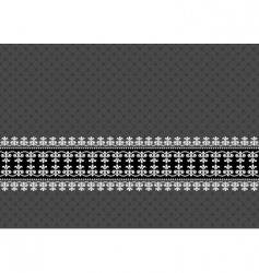ornamental border vector image vector image