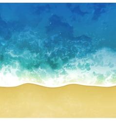 sea beach background vector image