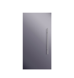cabinet door metal vector image