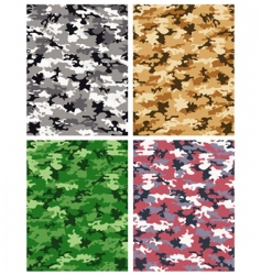 camouflage pattern vector image