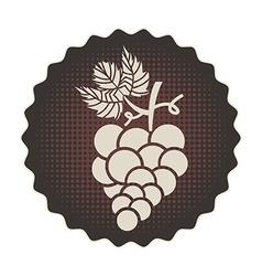 grapes design vector image