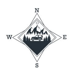 Moutain dventure logo vector