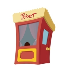 Movie cartoon box office vector