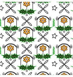patterns in nature vector image