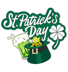 san patricks day vector image