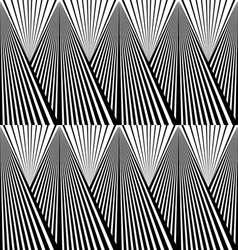 Abstract background in black and white tones vector image vector image