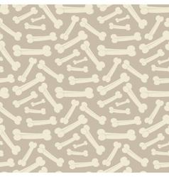Dog bone pattern vector image