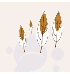 Trees icon vector image vector image
