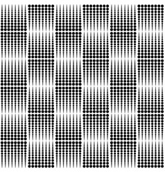 Abstract monochrome dotted half tone pattern vector