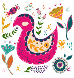 art set colorful vector image