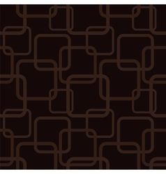 Brown seamless pattern with squares vector