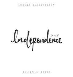 Independence Day Happy 4th of July vector image