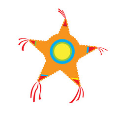 isolated pinata icon vector image