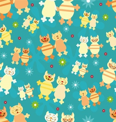 pairs of cats vector image