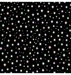 Space background night sky and stars vector image