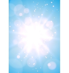 Blurry bright background vector image