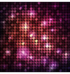 Circular halftone background vector image vector image