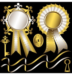 silk awards vector image