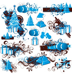christmas holiday clip art vector image